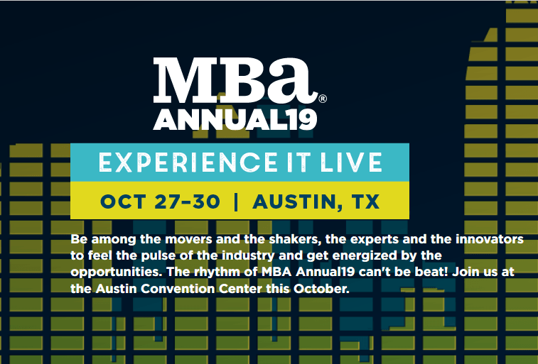 Mortgage Bankers Association Annual Convention 2019