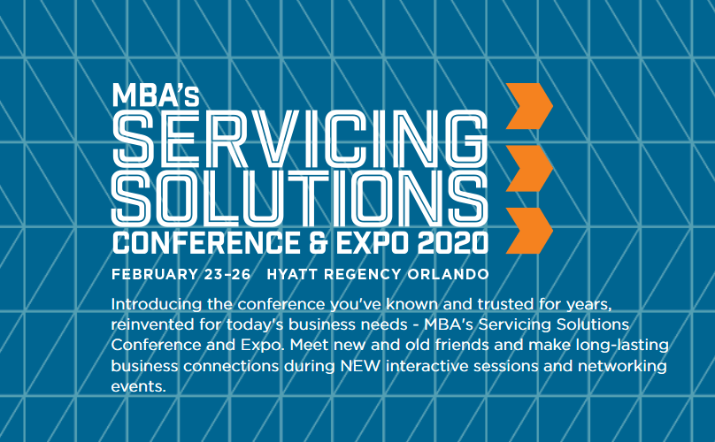 Mortgage Bankers Association Servicing Solutions Conference 2020