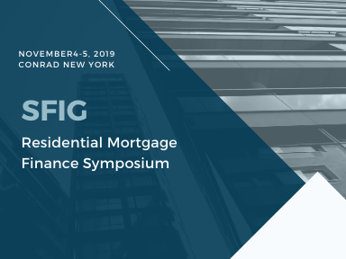 SRIG Residential Mortgage Finance Symposium