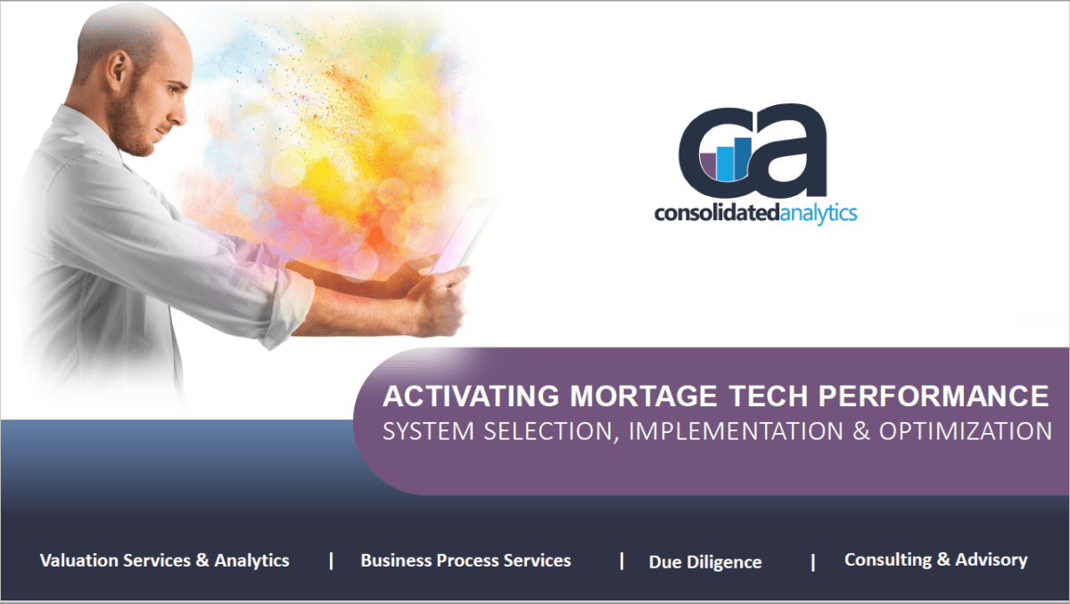 Activating Mortgage Technology